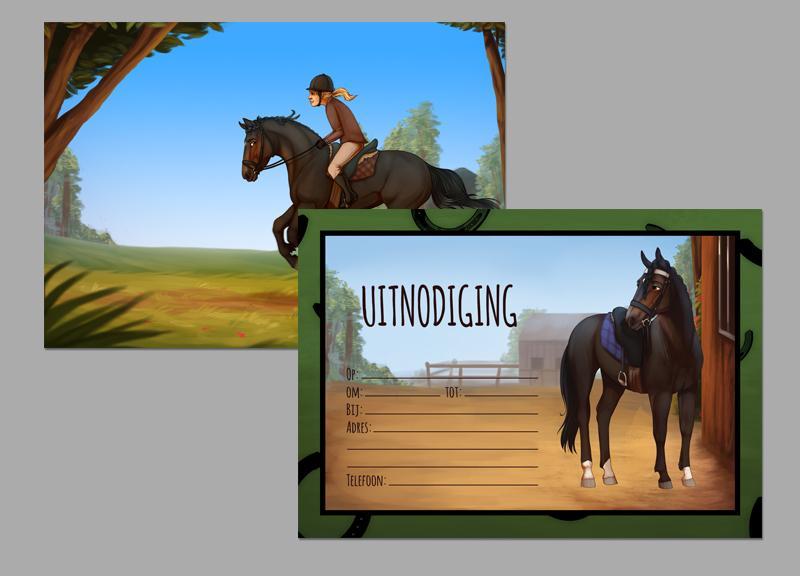 Super Paardenfeestje 10 t/m 12 jaar - 4tot12 Kinderfeestje thuis @JQ66